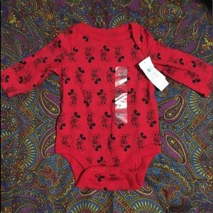 0-3m baby gap Mickey Mouse bodysuit brand new